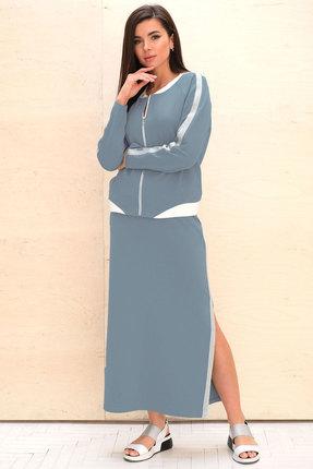 Комплект юбочный Faufilure с747 джинс