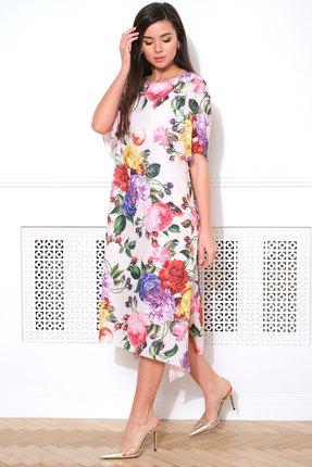 женское повседневные платье faufilure, молочное
