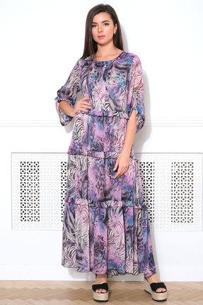 женское повседневные платье faufilure, фиолетовое