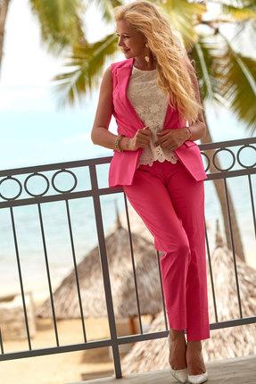 Комплект брючный Vesnaletto 2275-3 кораллово-розовый
