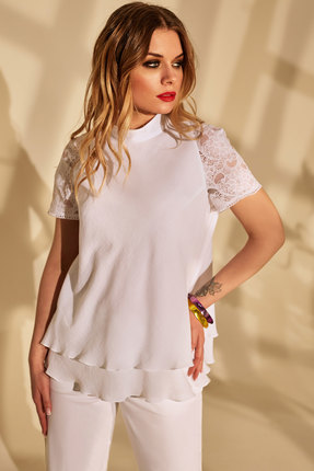 женская блузка golden valley, белая