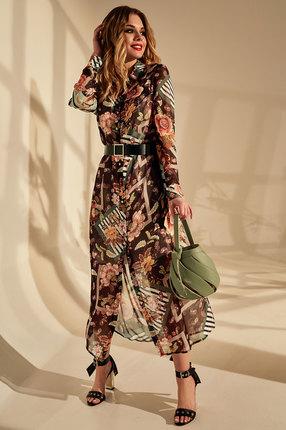 женское повседневные платье golden valley, разноцветное