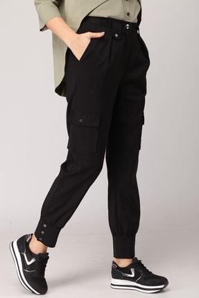 женские брюки danaida, черные