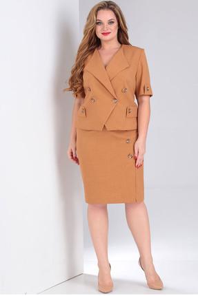 Комплект юбочный Milana 205 светло-коричневый