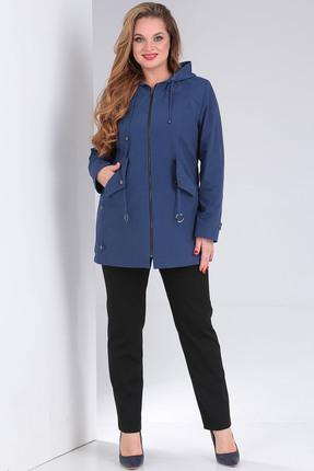 женская куртка milana, синяя