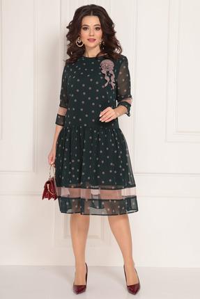женское вечерние платье solomeya lux, зеленое