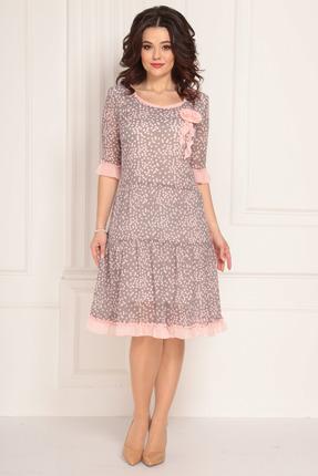 Платье Solomeya Lux 692 розовый