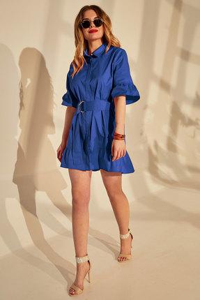 женское повседневные платье golden valley, синее