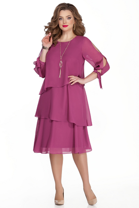 женское вечерние платье teza, фуксия