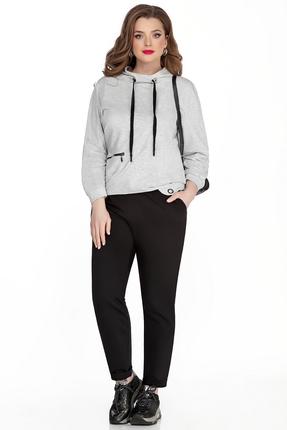 женский спортивный костюм teza, серый