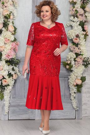 Платье Ninele 5767 красный