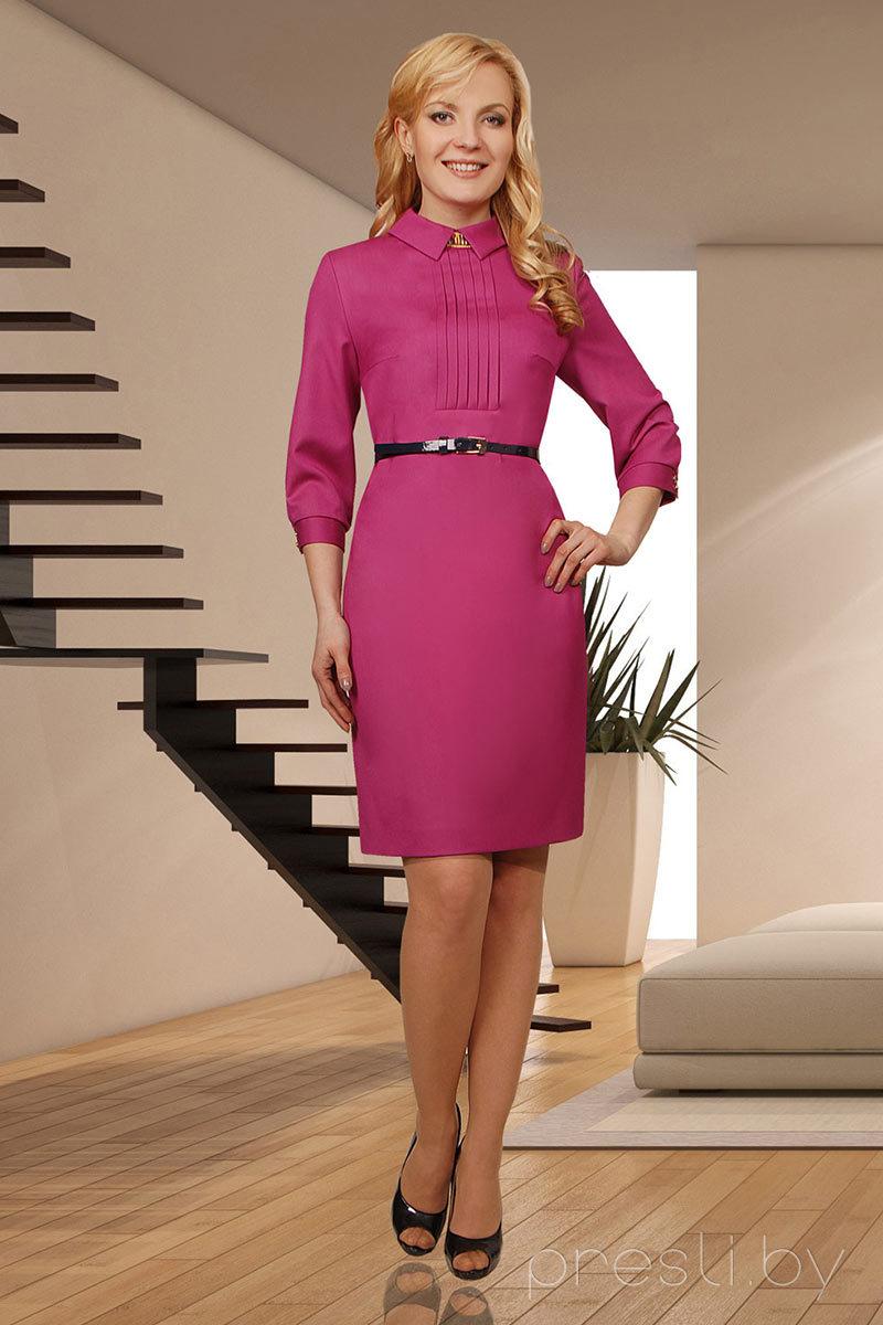 Платье Миа Мода 587-1 розовый