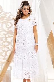 Платье Vittoria Queen 11013 белый