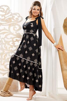 женское вечерние платье vittoria queen, черное
