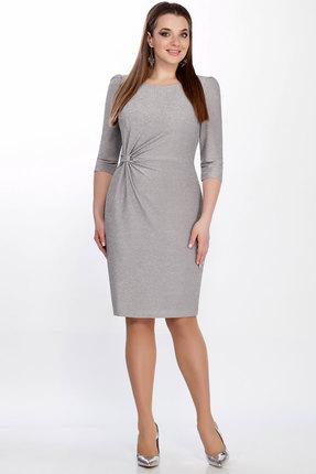 Платье LaKona 1275/1 серый