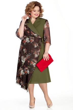 Платье Pretty 1039 зеленый