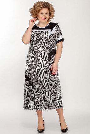 женское повседневные платье медея и к, серое