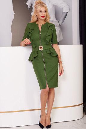Платье Vesnaletto 2276-2 хаки