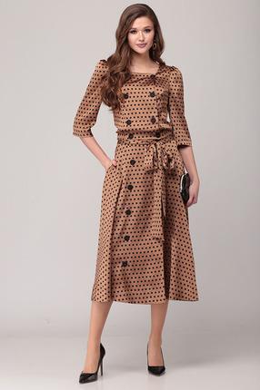 Комплект юбочный Verita Moda 2058 коричневый
