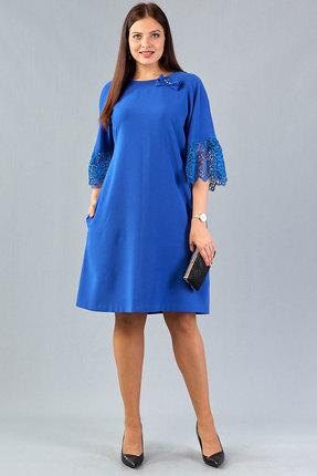 Платье Emilia 10100 василек