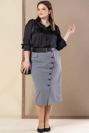 Комплект юбочный Deesses 2021 черный с серым