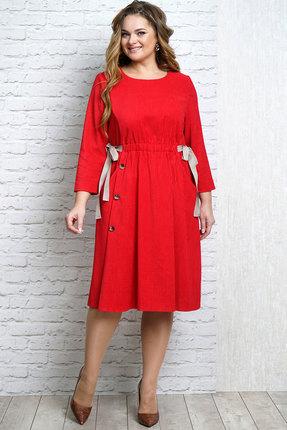 Платье Alani 1119 красный thumbnail