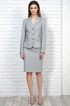 Комплект юбочный Alani 1122 серый с розовым
