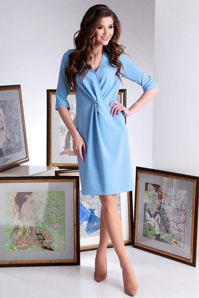 Платье Axxa 55141 голубой