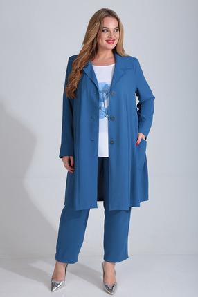 Комплект брючный Диамант 1508 синий