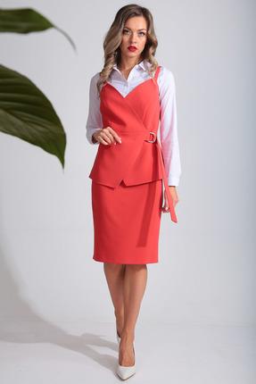 Комплект юбочный SandyNa 13659 коралловый