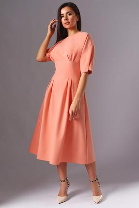 Платье Миа Мода 1133 персиковый