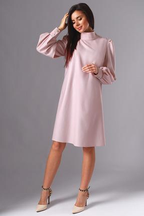 Платье Миа Мода 1136-2 нежно-розовый