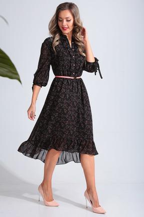 Платье SandyNa 13676 черный