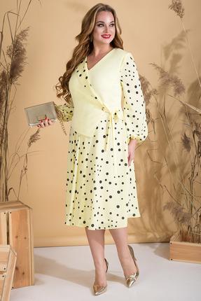 Платье Лилиана 815 желтый