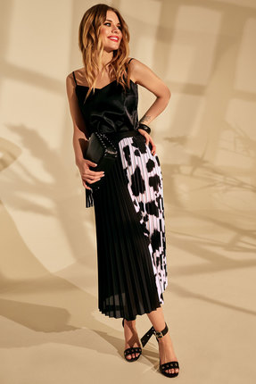 женская юбка golden valley, черная
