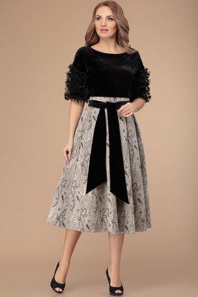 Комплект юбочный Svetlana Style 1369 черный с серым