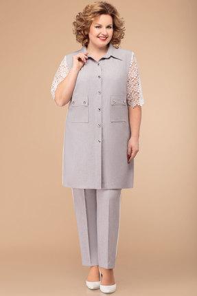 Комплект брючный Svetlana Style 1358 серый