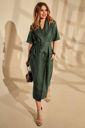 женское повседневные платье golden valley, зеленое