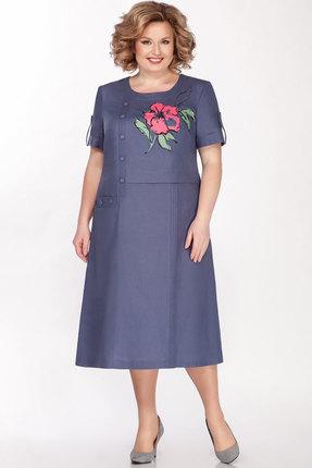 Платье Теллура-Л 1490 джинс