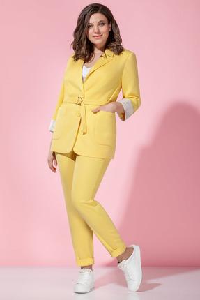 Комплект брючный Anna Majewska 1333Y желтый
