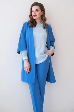 Комплект брючный ЮРС 19-949-8 голубой