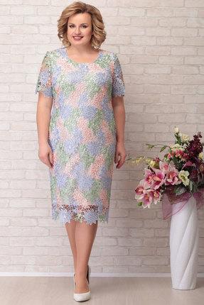Платье Aira Style 623 мультиколор