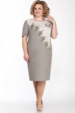 женское повседневные платье lakona, серое