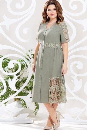 Платье Mira Fashion 4625 хаки
