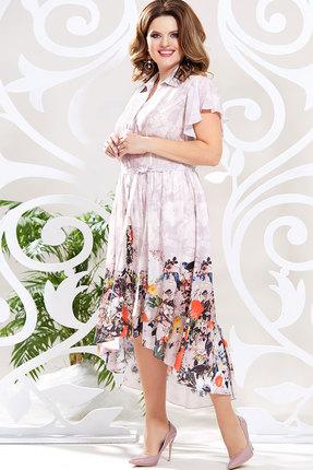 Платье Mira Fashion 4619 мультиколор