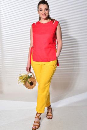 Комплект брючный MALI 719-033 красный+жёлтый