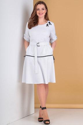 женское повседневные платье danaida, белое