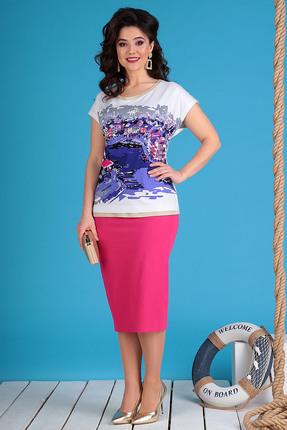 Комплект юбочный Мода-Юрс 2492 фуксия