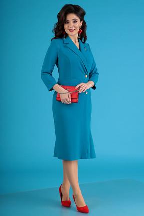 Платье Мода-Юрс 2430 голубой