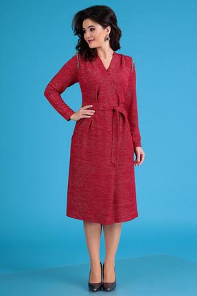Платье Мода-Юрс 2541 бордовый